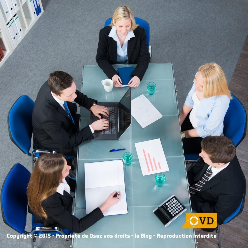 Les réunions du comité d'entreprise sont ordinaires ou extraordinaires