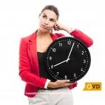 Modification de l'horaire de travail