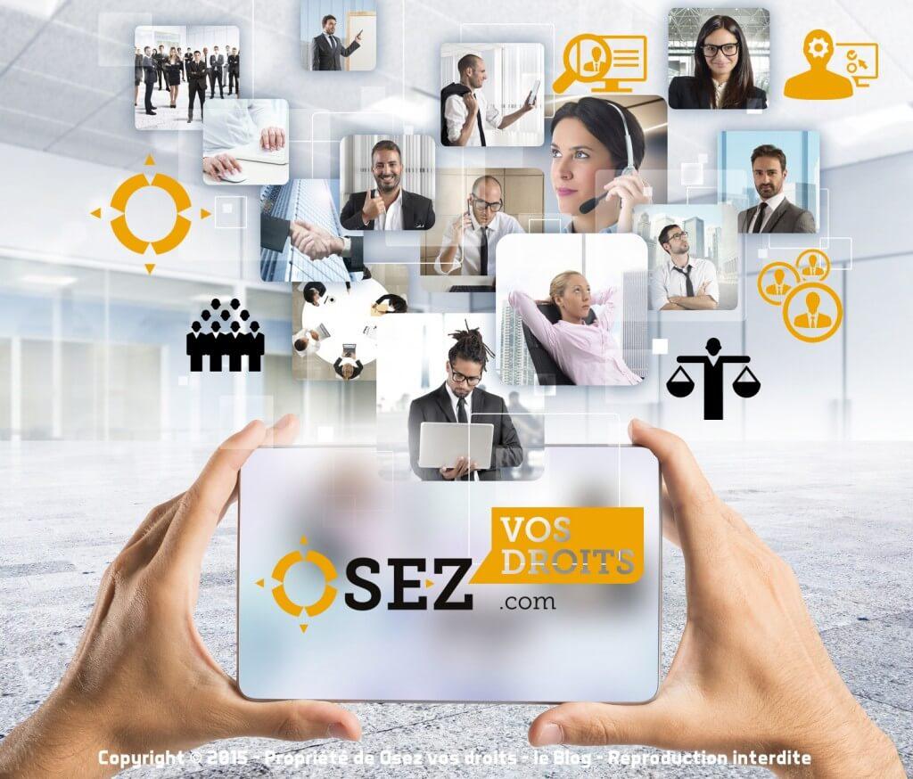 Les rédacteurs, juristes et experts de l'agence OSEZ VOS DROITS