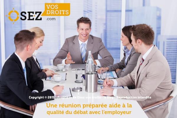 Expert CE lors des réunions
