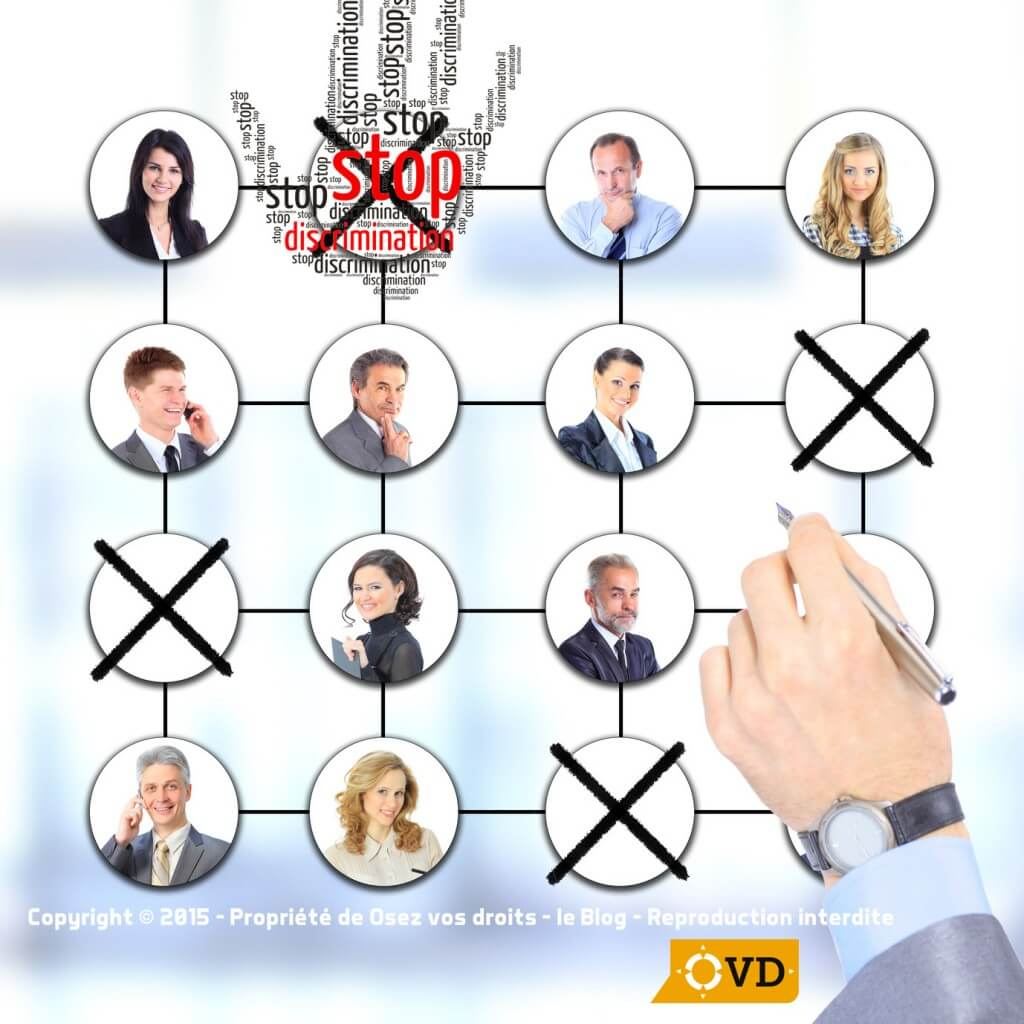 discrimination en entreprise exemple