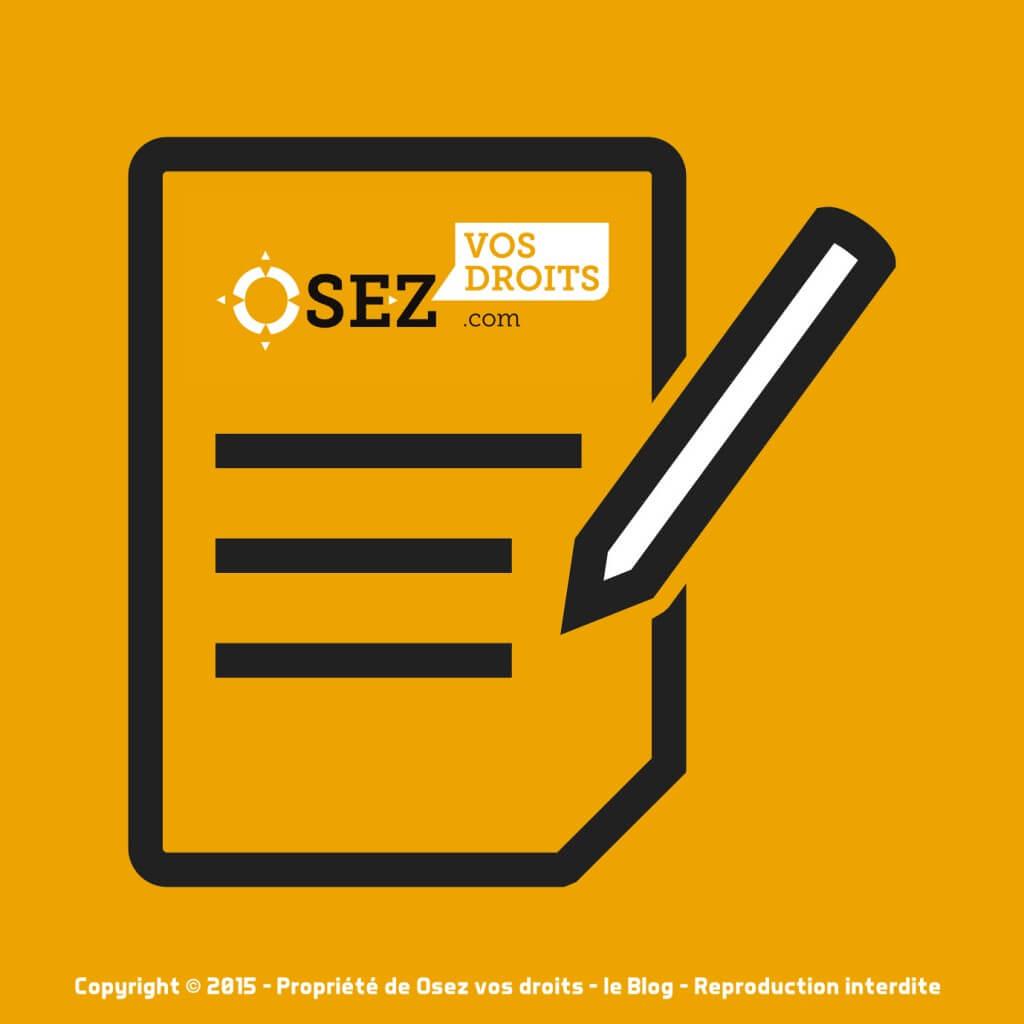 Mentions légales et Informations utiles OSEZ VOS DROITS