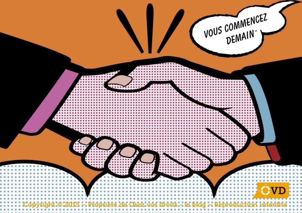 La promesse d'embauche et la lettre d'engagement vaut contrat de travail