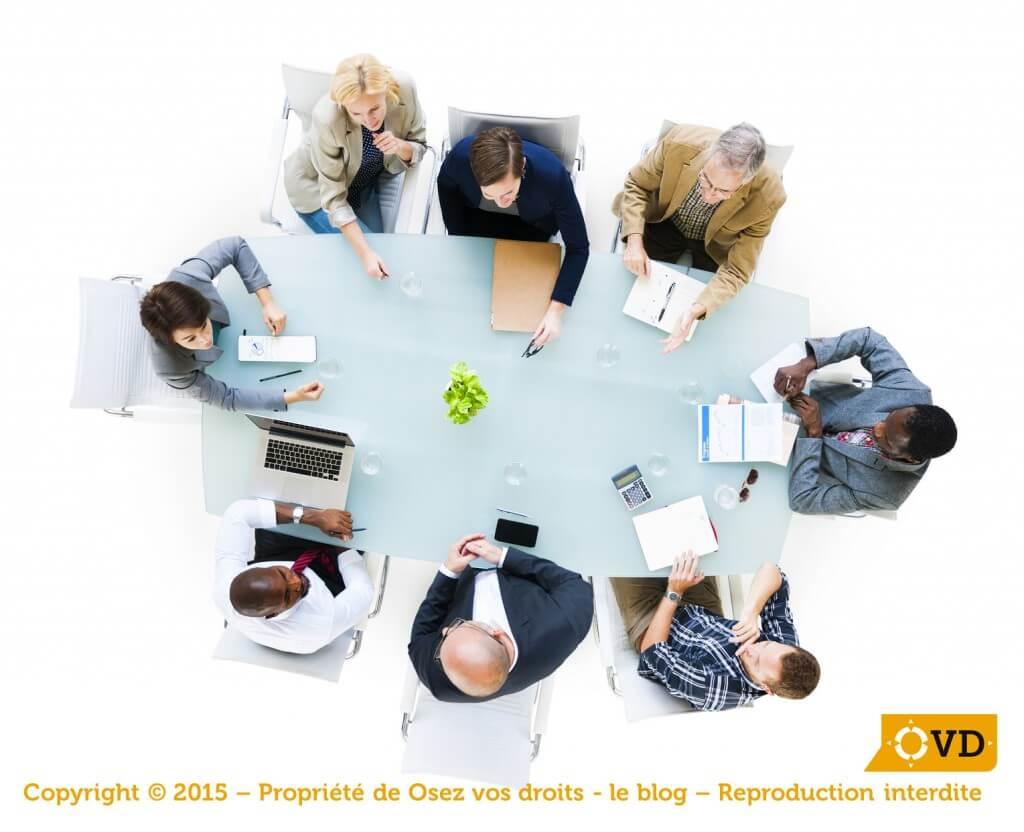 Les réunions des délégués du personnel