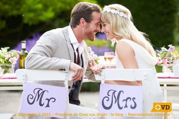 Le mariage : les conditions requises