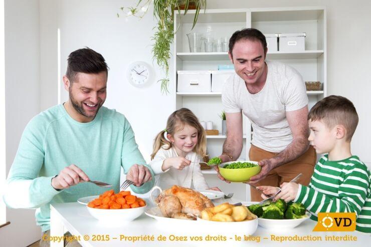 Adoption de droits homosexuels