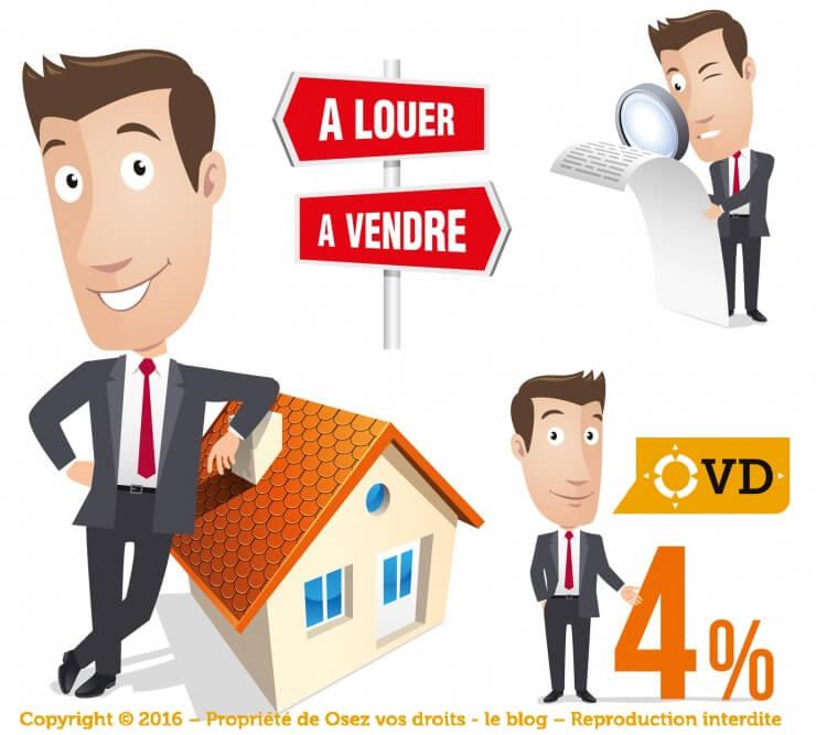 Frais d agence lors d 39 un achat ou d 39 une location immobili re - Frais d agence location meublee ...