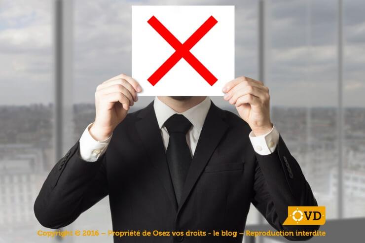 Comment réagir face à un refus de sa candidature lors d'une recherche d'emploi ?