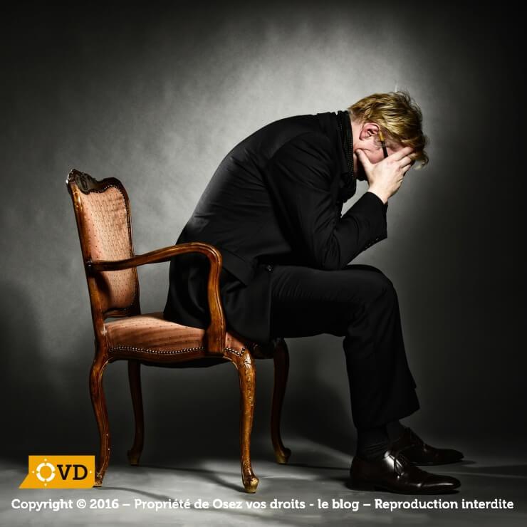 La dépression du demandeur d'emploi est une sombre réalité