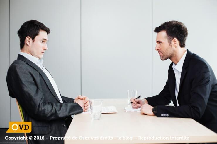 Un entretien professionnel obligatoire permet de définir l'évolution d'un salarié au sein de son entreprise