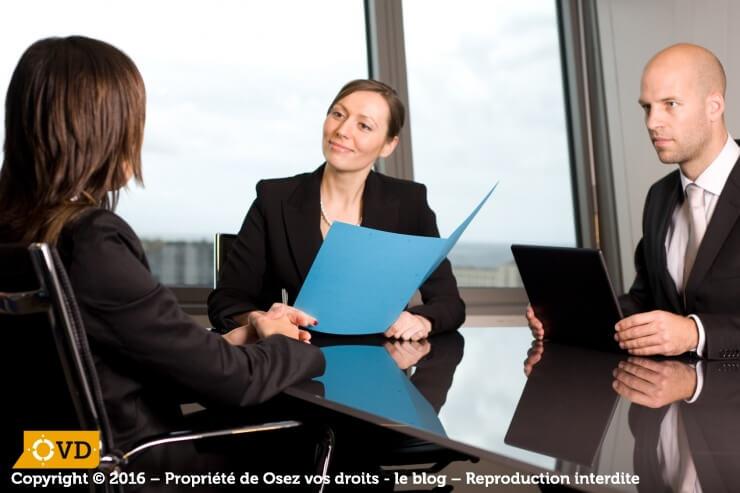 Un entretien de recrutement n'est pas une simple formalité