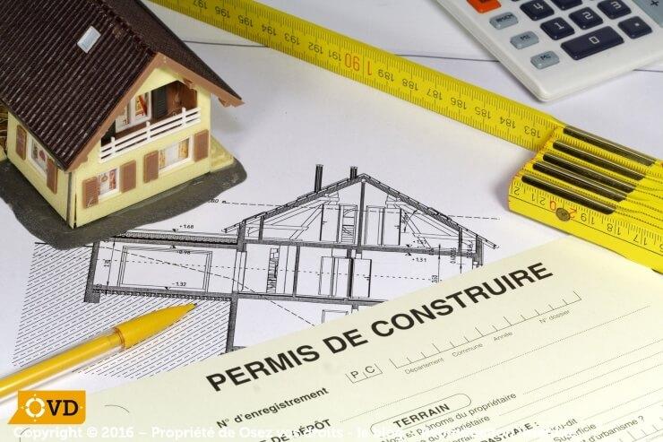 Le permis de construire est obligatoire dans bien des cas.