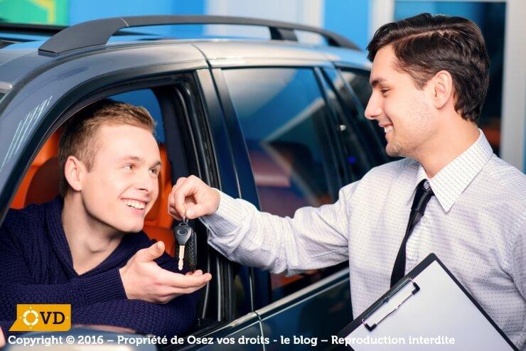 Etablir un contrat de location automobile