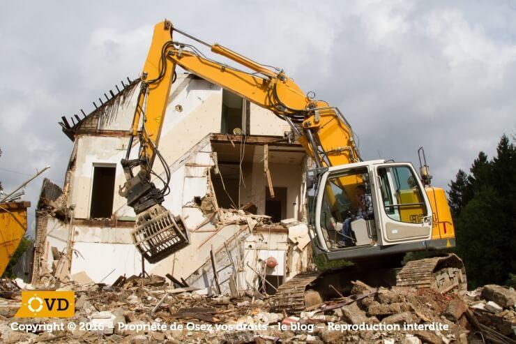 Permis de d molir quelles sont les d marches obligatoires for Permis de demolir obligatoire