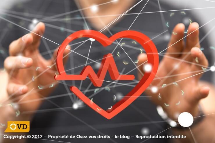 Les maladies professionnelles reconnues sont identifiées par la CPAM.