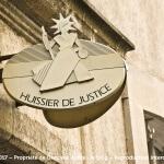 Quid d'une saisie par huissier de justice ?