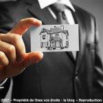 La carte professionnelle immobilière
