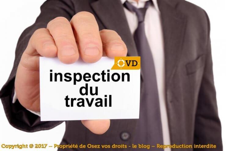 Quel est le rôle de l'inspecteur du travail ?