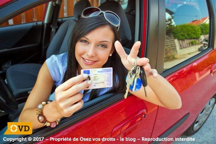 Obtention du permis de conduire