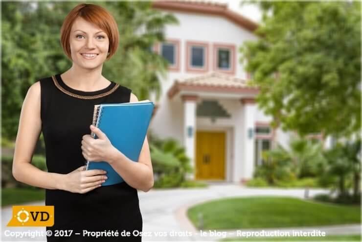 La responsabilité de l'agent immobilier est prévue dans la loi.