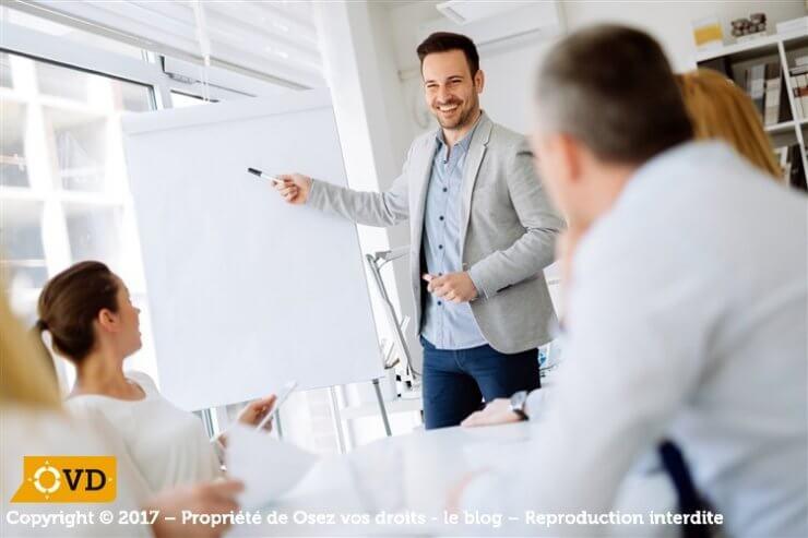Formation des délégués du personnel et obligation de l'employeur.