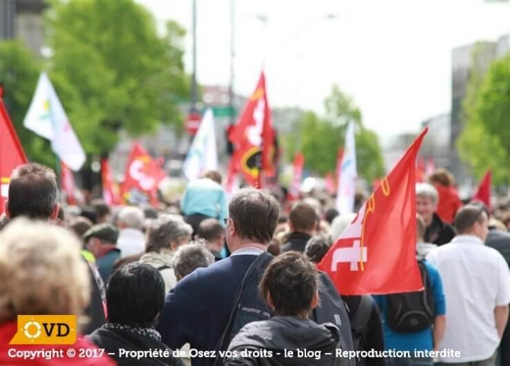 Le droit de grève et de manifester, que dit la loi ?