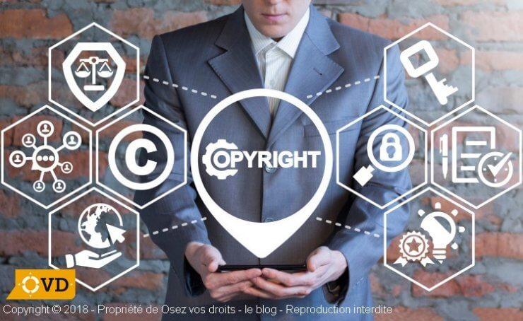 Le droit sur la propriété intellectuelle