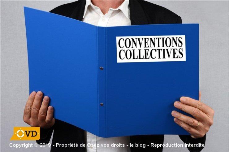 La place de la convention collective pour les salariés (conventions collectives)