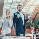 Le sport en entreprise participe au bien-être au travail.