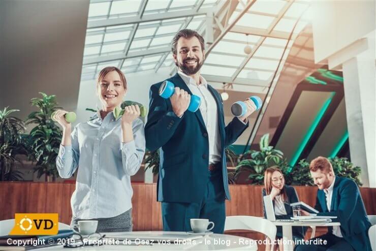 Sport en entreprise et bien-être au travail